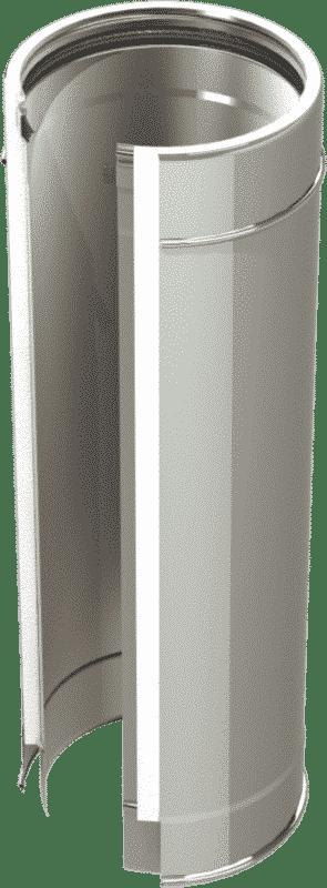 Canna fumaria sistema doppia parete Isoblank