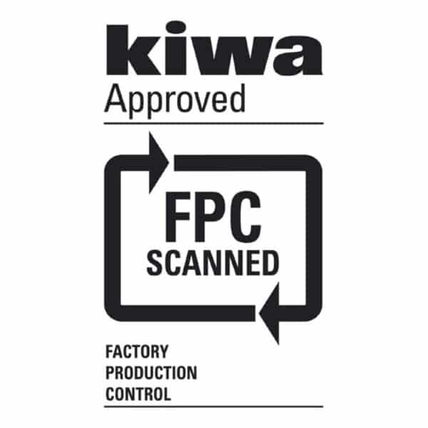 Kiwa approved