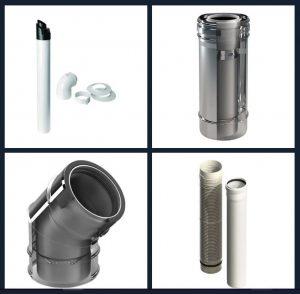 Kunststoffabzug für Ihre Rauchgasanlage - Kunststoffabzüge - Beza srl