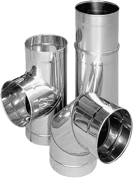 The functioning of a flue pipe. Flues for fireplaces. Smoke systems.