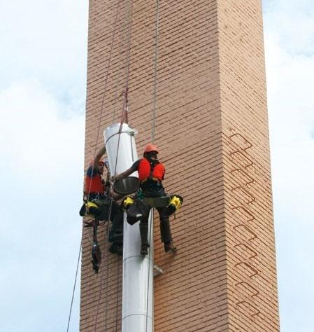 Hotel di Portorose: sistema con canna fumaria doppia parete Isotherm