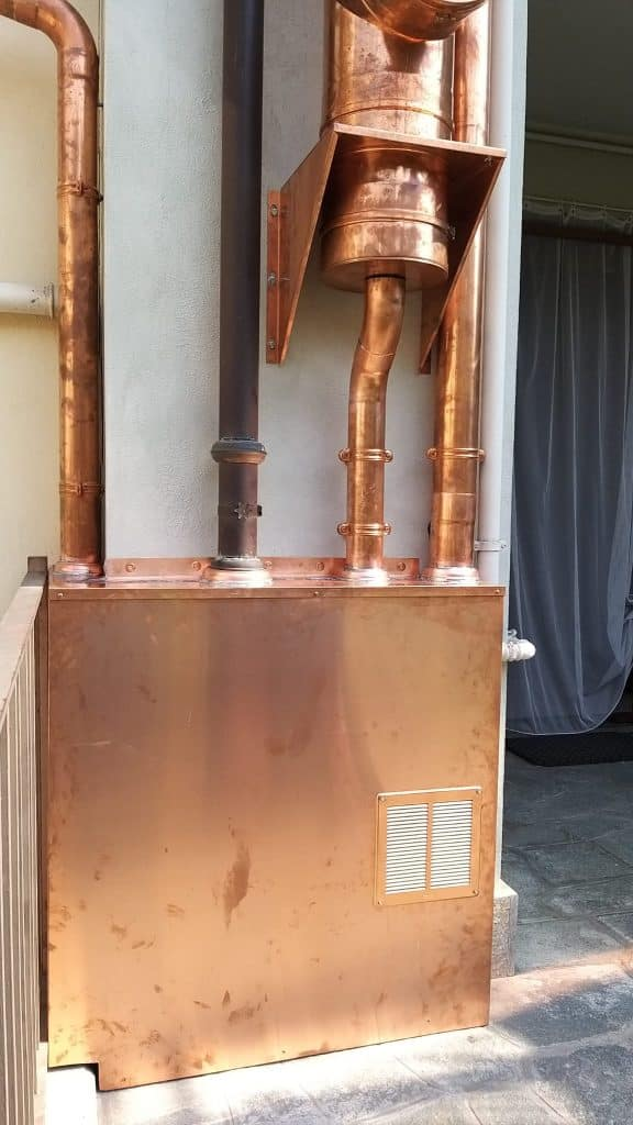 Installazione canne fumarie ISOTHERM RAME Savigliano (CN)